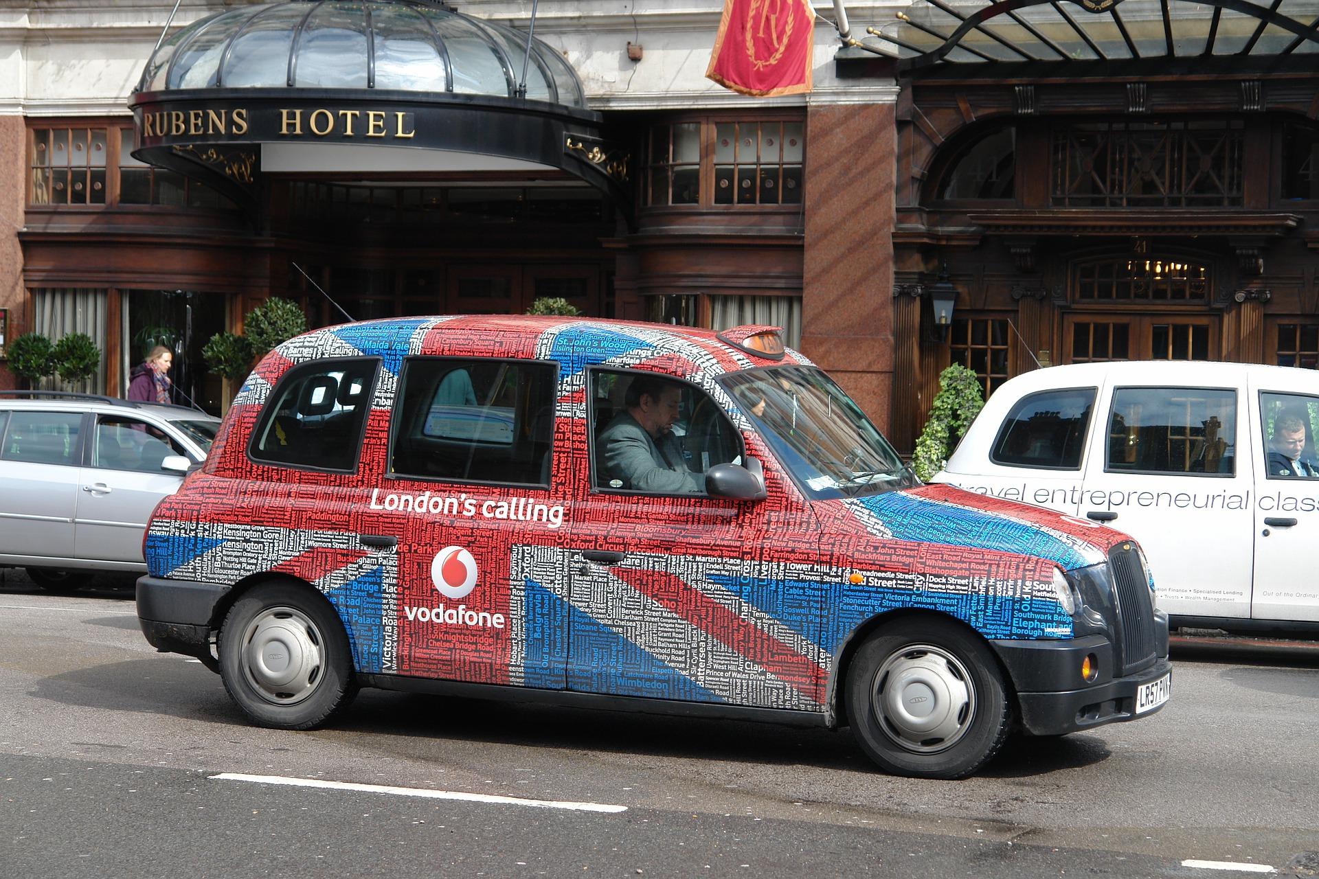 מונית בלונדון