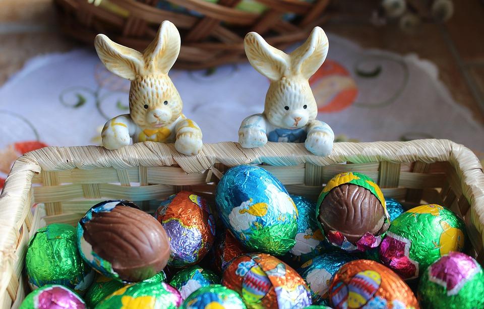 ארנב Easter בלונדון