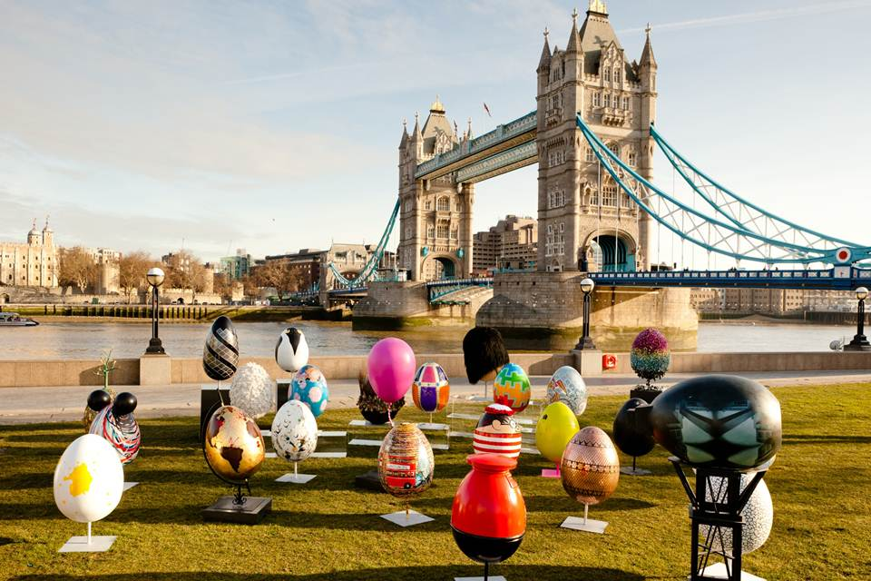 Easter agg in london